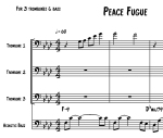 Fred Wesley - Peace Fugue - transcription by Omashay-preview