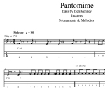 Incubus(Ben Kenney)-Pantomime-bass-transcription-by-Omashay-score&tab-preview
