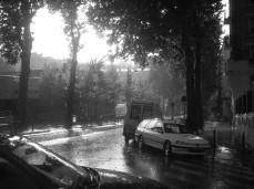 19e sous la pluie