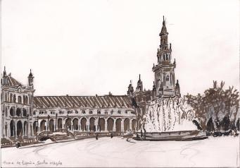 Plaza de Espana, Sevilla