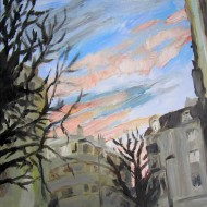 Ciel d'hiver à Clichy