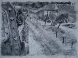 Jean Gabin dans la Bête Humaine (Renoir)